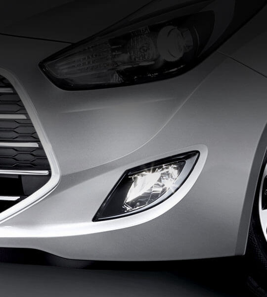 Front fog lamps