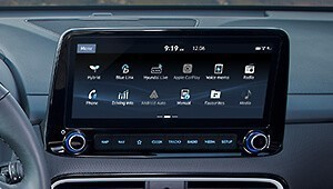 "Navigation system with 10.25"" touch screen"